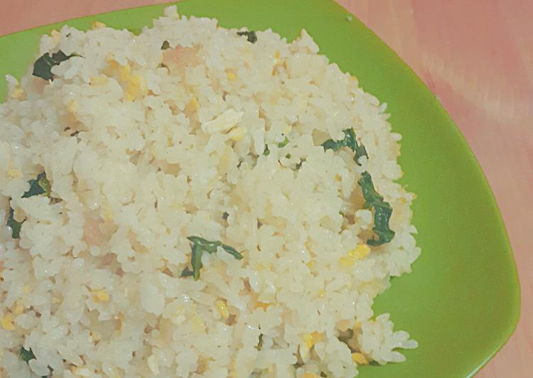Cara Memasak Nasi goreng mentega bawang putih simpel untuk pemula