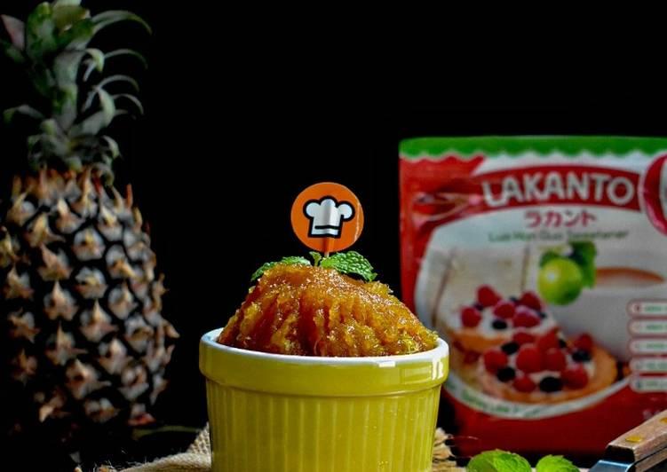 Pineapple Jam Low Calori(Filling Untuk Nastar)