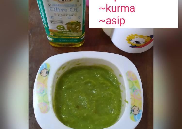 Cara mudah membuat Puree Avocado Snack MPasi 6+