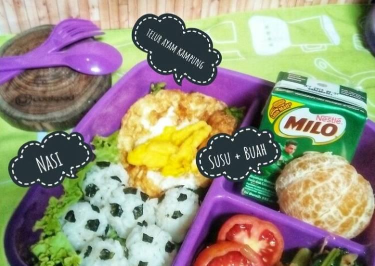 Resep Bekal Anak Sekolah 4 Sehat 5 Sempurna Oleh Nurul Muzlifa