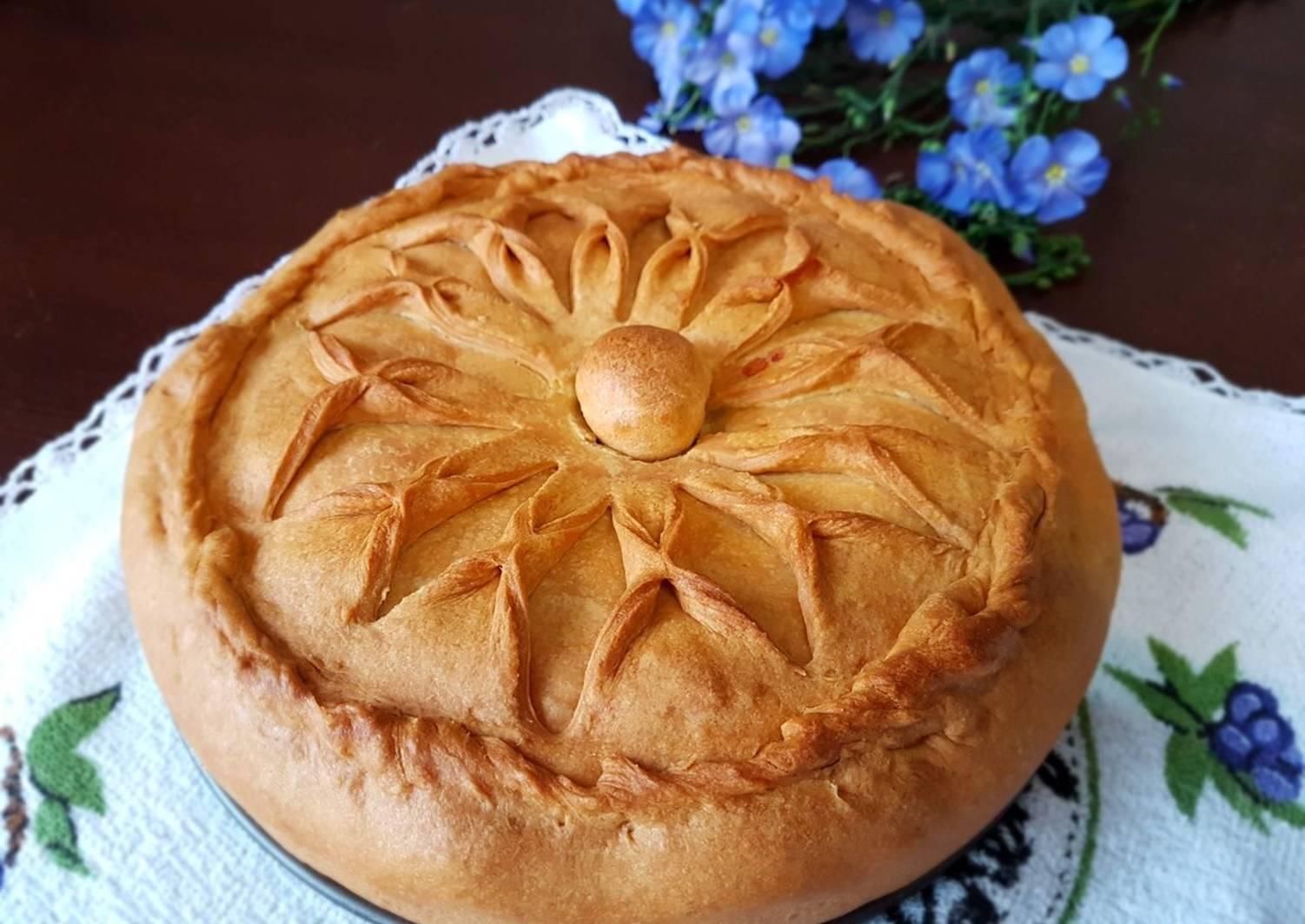Татарский пирог бэлиш рецепт с фото