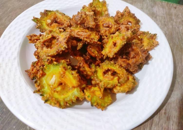 Crispy Karela Pakora