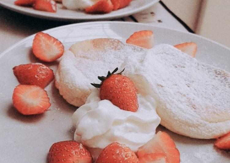Resep Souffle Pancake Paling Mudah