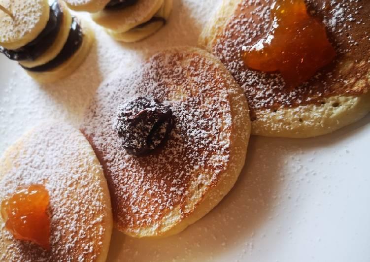 Fluffige Pfannkuchen