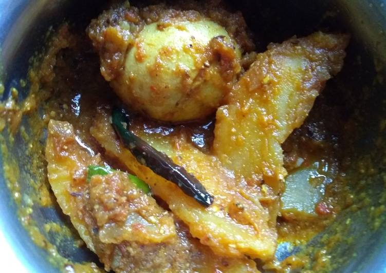 How to Make Ultimate Egg dum curry