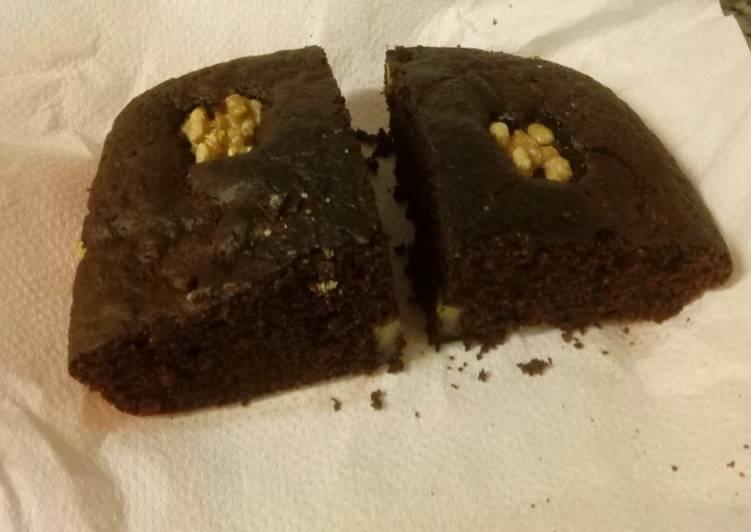 Tarta de chocolate rollo brownie