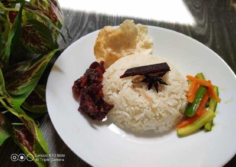 Nasi Minyak (Malaysian Style)