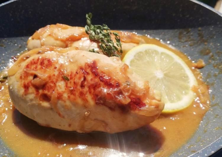 Recette Des Filet de poulet thym citron