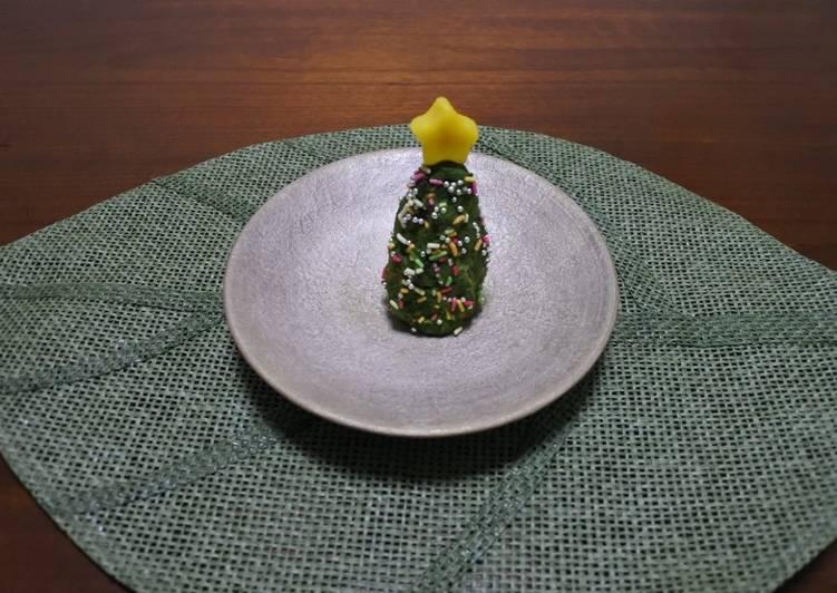 Wagashi Christmas Tree