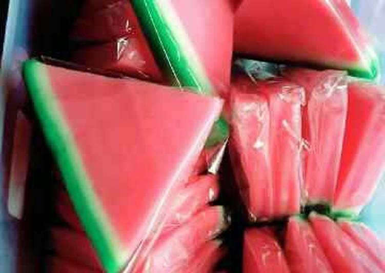 Pudding semangka