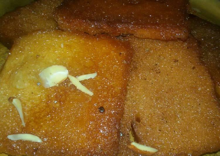 Easiest Way to Prepare Ultimate Bread ki mithai