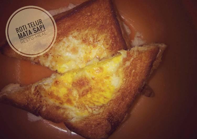 Resep Roti Telur Mata Sapi (12month+) Paling Joss