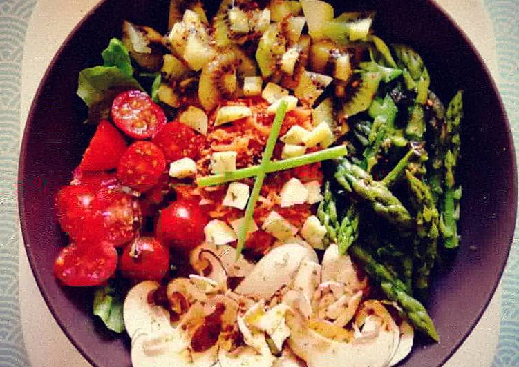 Recipe: Delicious 🌿Salad bowl healthy🌿