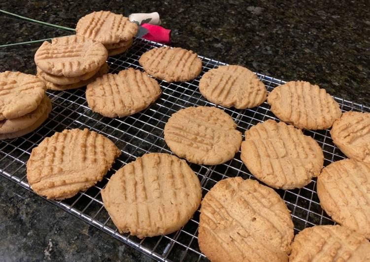 Peanut butter cookies - cookandrecipe.com