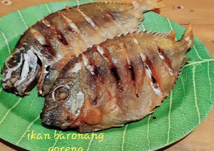 Resep Ikan Baronang Goreng Oleh Indah Riduwan Cookpad