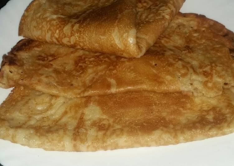 How to Prepare Ultimate Cassava Flour Crêpes (Pancakes) #AuthorMarathon #GlutenFreeFlour