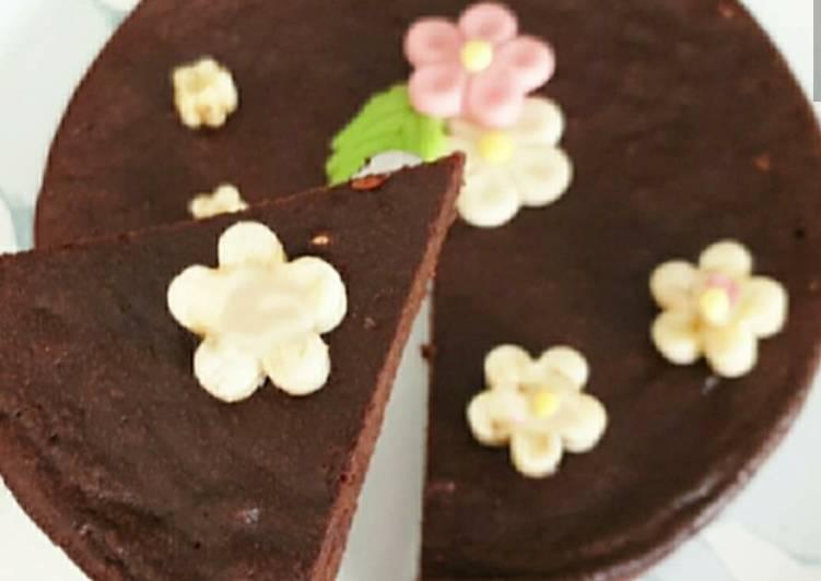 Fondant au chocolat sans matière grasse