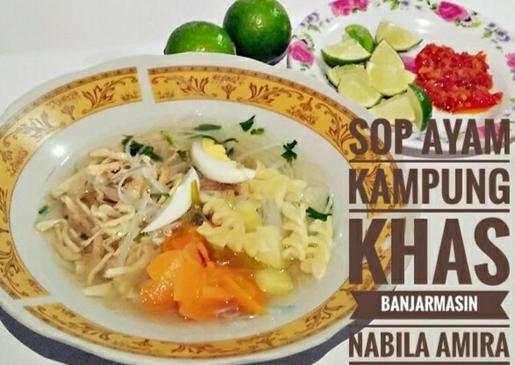 Resep Sop Ayam Kampung Khas Banjarmasin Selasabisa Oleh Supartinah Cookpad