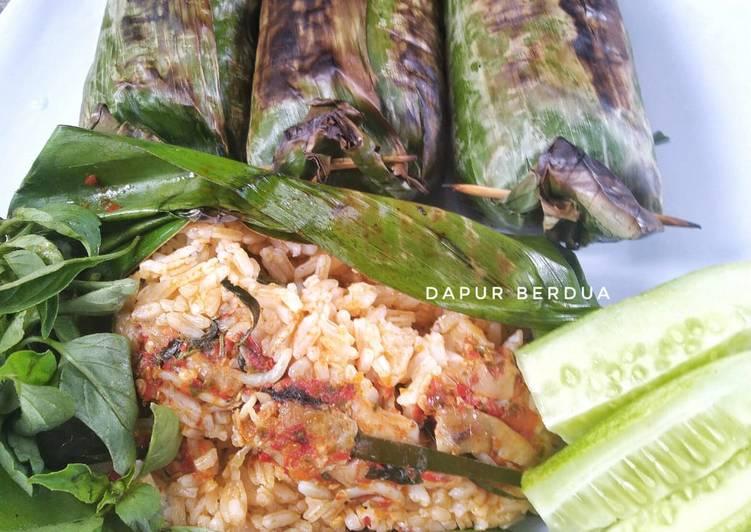 Nasi Bakar Ayam Jamur Teri | Recook Bu Nuning Putri