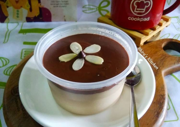 Silky Pudding Milk Coffe