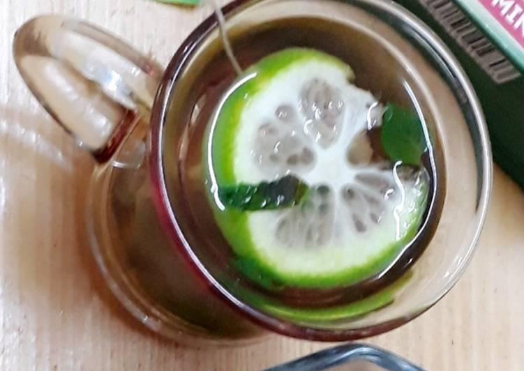 Top 10 Dinner Ideas Super Quick Homemade Green Tea with Lemon