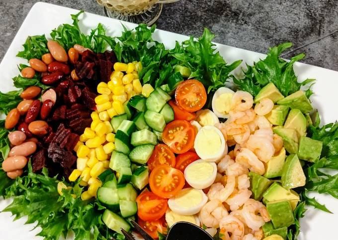 ★Rainbow cobb salad★