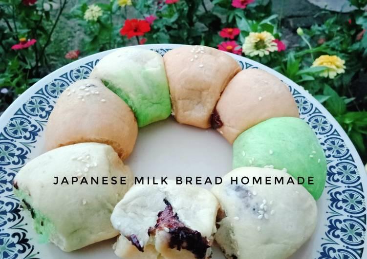 Japanese milk bread homemade