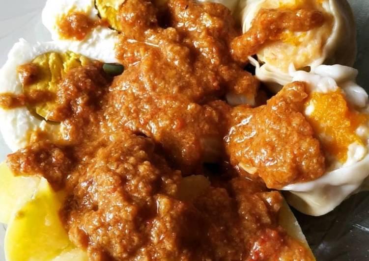 Saus Kacang untuk Siomay/Batagor
