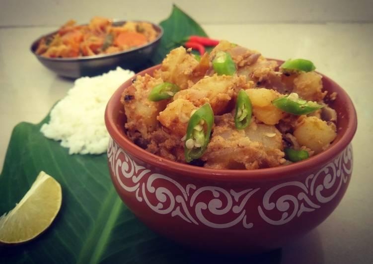 Recipe of Ultimate Bengali Aloo Posto