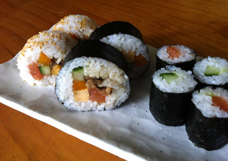 Dining 14 Superfoods Is A Terrific Way To Go Green For Better Health Maki-zushi