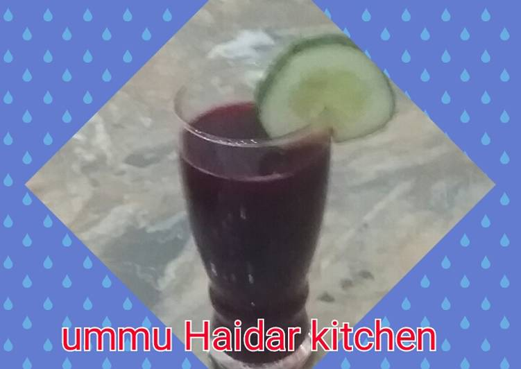 15 Minute How to Make Winter Zobo