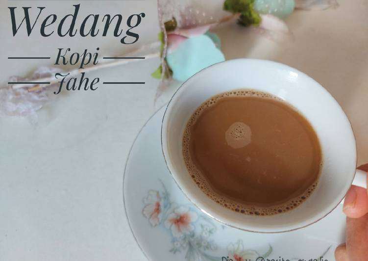 Wedang kopi jahe