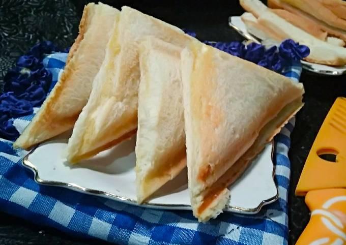 Roti Panggang oles margarin