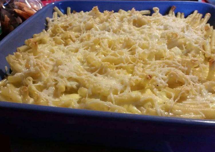 Comment Préparer Des Gratin de macaronis