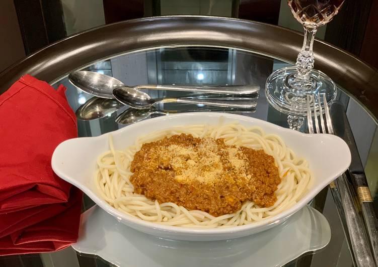 How to Prepare Super Quick Homemade Spaghetti Bolognese🍝