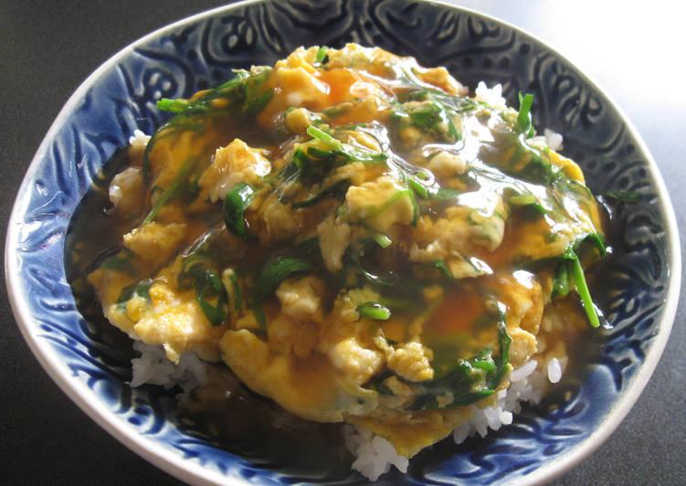 Simple Way to Make Top-Rated 'Nira-Tama' Don (Garlic Chives & Eggs Rice Bowl)