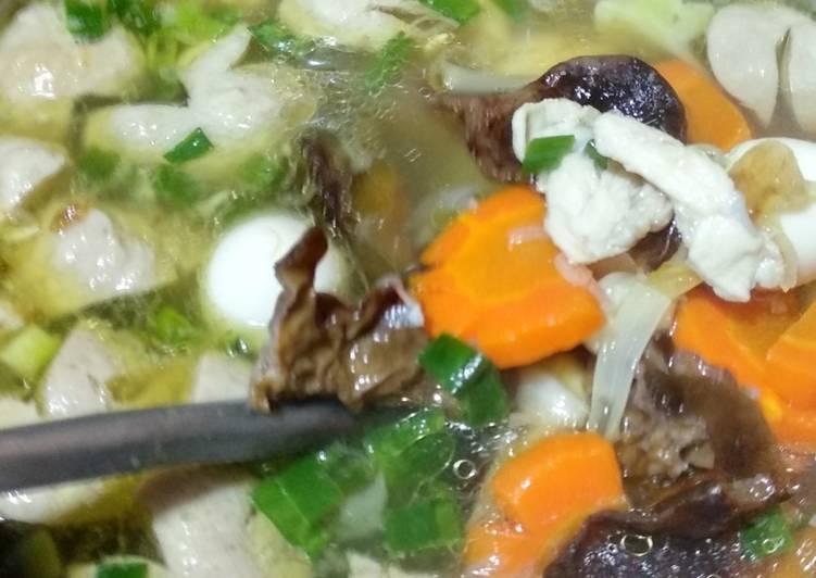 Resep Sup kimlo simple Yang Simple Endes