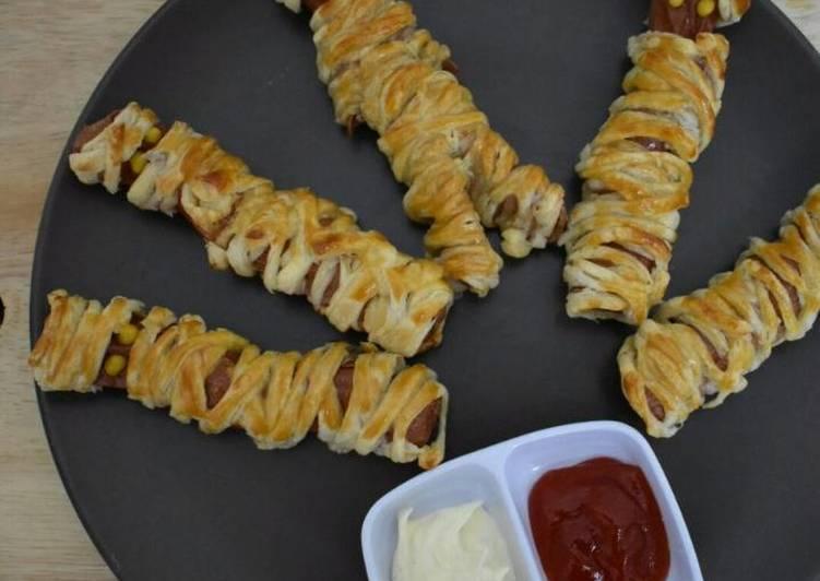 SOSEJ HANTU/Pastry Wrap Mummies Dog - velavinkabakery.com