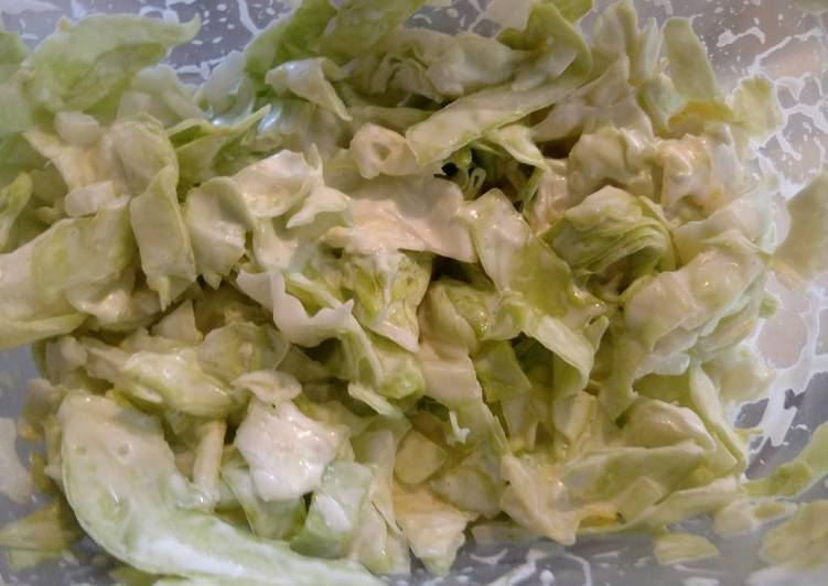 Simple Way to Prepare Perfect Easy Coleslaw