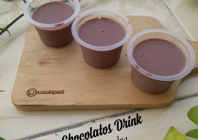 Pudding Chocolatos Drink