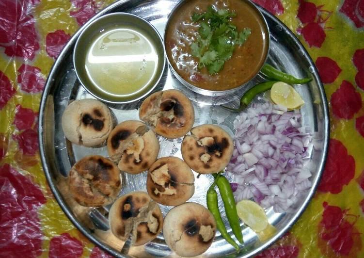 Rajasthani Dal Bati