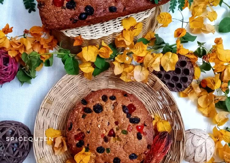 30 Minute Simple Way to Make Royal Christmas Fruit Cake
