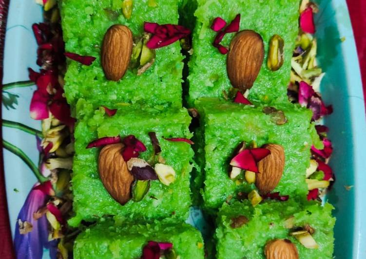 Step-by-Step Guide to Prepare Super Quick Homemade Bottlegourd burfi