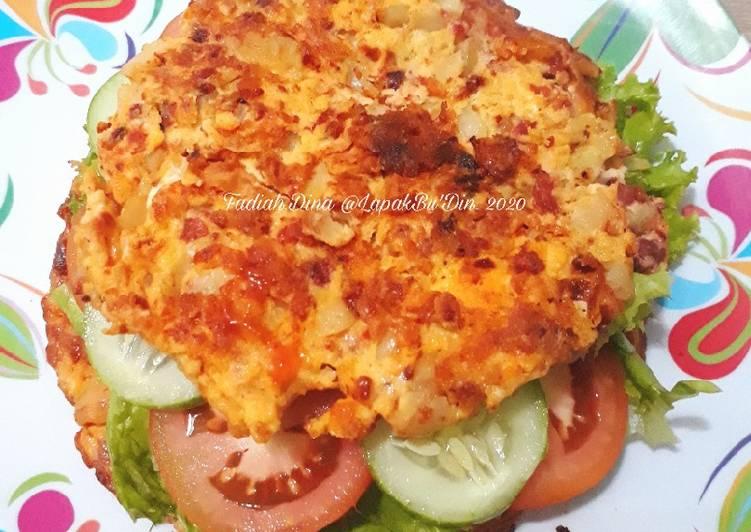 Sandwich Potato Omelete