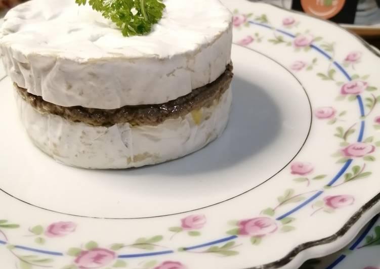 🎀✨Camembert Farçi Crème de Champignons et Truffes blanches✨🎀