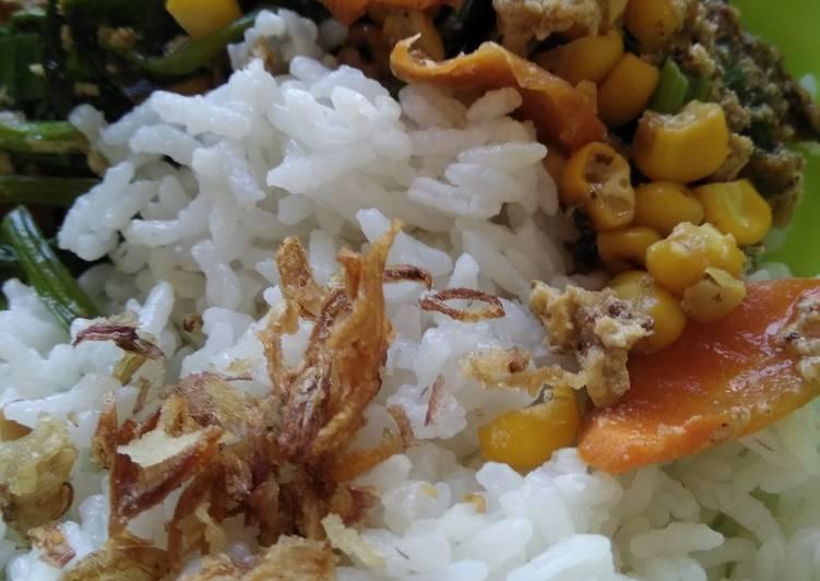 Tumis Orak Arik Wortel Sawi Jagung solusi masak anti asam urat