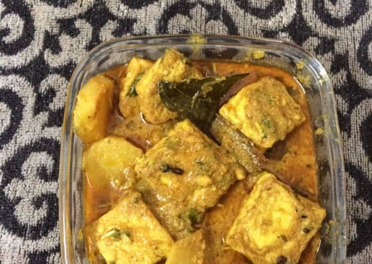 Egg curry in new way