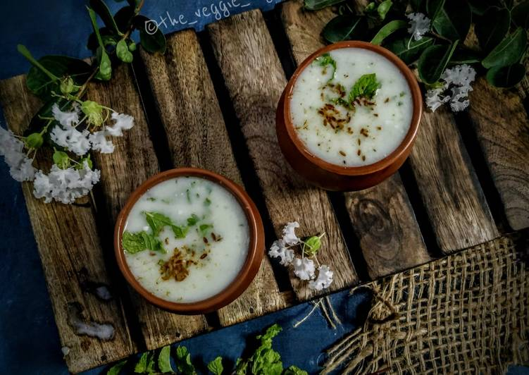 15 Minute Recipe of Any Night Of The Week Minty Masala Buttermilk