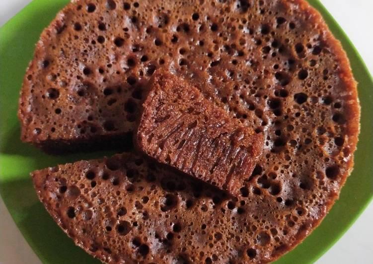 cara menyajikan Bolu karamel - Sajian Dapur Bunda