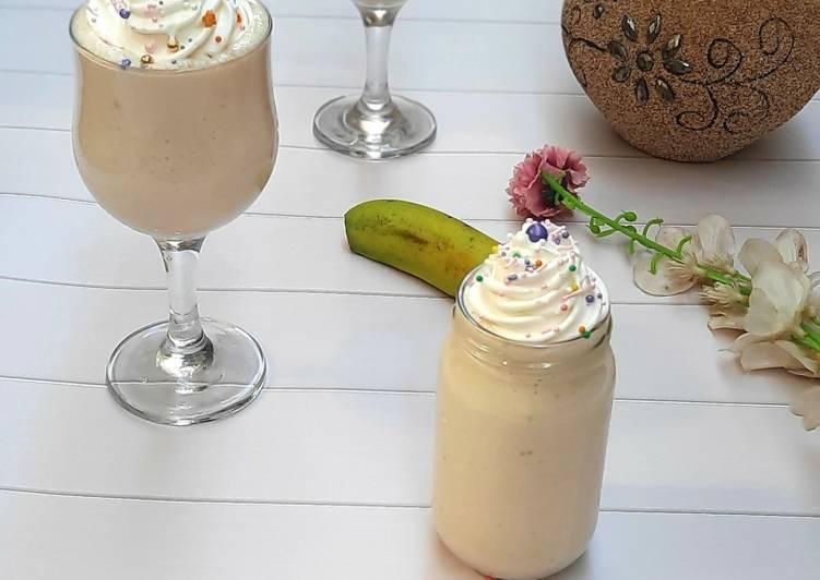 Dinner Ideas Creamy banana smoothie